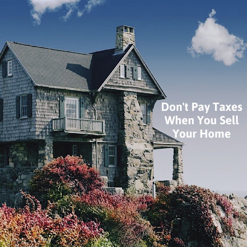 SELLING YOUR REAL ESTATE WITHOUT TAXES