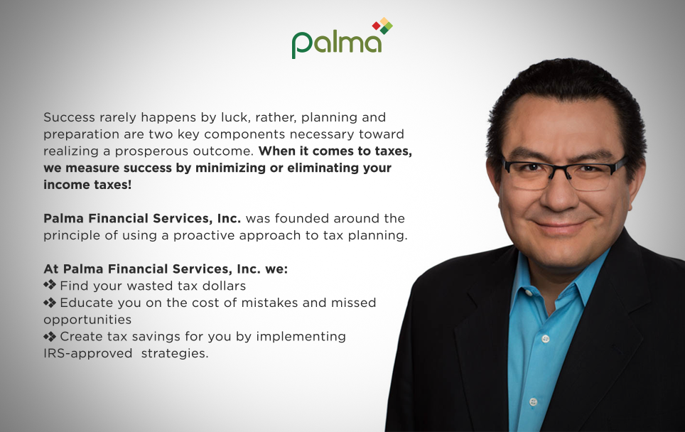 Tax Planning With Palma Financial Services