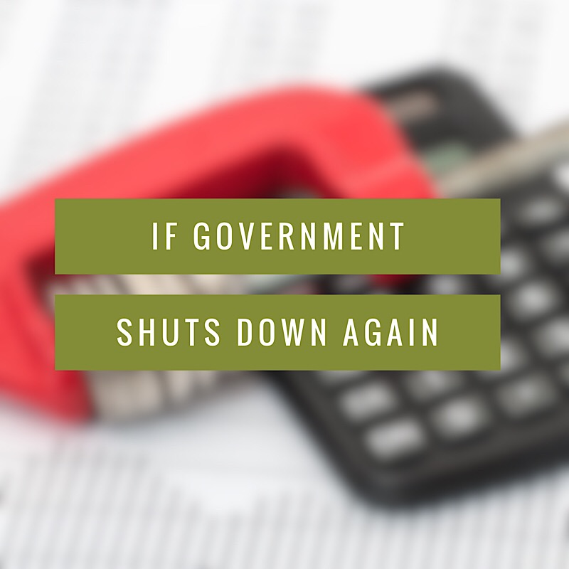 Tax Season: What To Expect During Another Government Shutdown