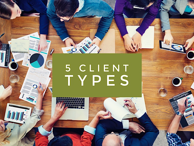 5 Types of Accounting Clients and How to Deal with Them