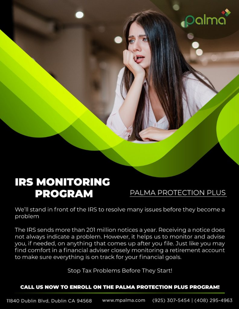 IRS Monitoring